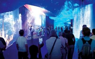 الصورة: «كوفريكس» تروّج للجناح الفرنسي في «إكسبو 2020 دبي»