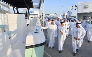 الصورة: معرض أبو ظبي للقوارب يشهد طرح 16 منتجا جديدا لاول مرة