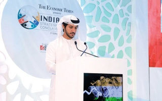 الصورة: 132 مليار درهم التبادل التجاري غير النفطي بين الإمارات والهند