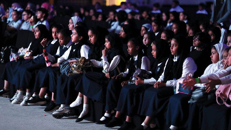 المهرجان قدّم أفلاماً تُعرض لأوّل مرة على مستوى الخليج العربي والشرق الأوسط.  من المصدر