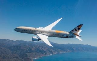 الصورة: الاتحاد للطيران تحتفل بتشغيل بوينغ 787 دريملاينر إلى ميلانو