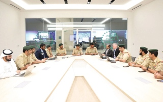الصورة: شرطة دبي تشارك في «نتعلّم» بـ «حقائب آمنة»