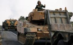 الصورة: تركيا و«قسد» تتبادلان الاتهامات بخرق وقف إطلاق النار في سورية