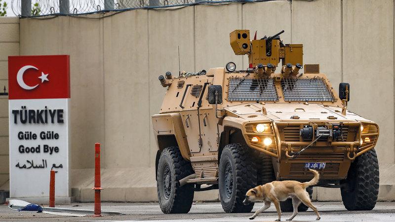 الهجوم التركي هدفه القضاء على الدولة الكردية.  أ.ب