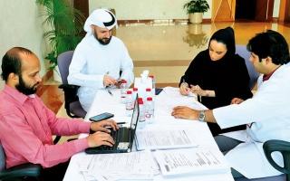 الصورة: «موارد بشرية دبي» تقدم تطعيمات الإنفلونزا الموسمية