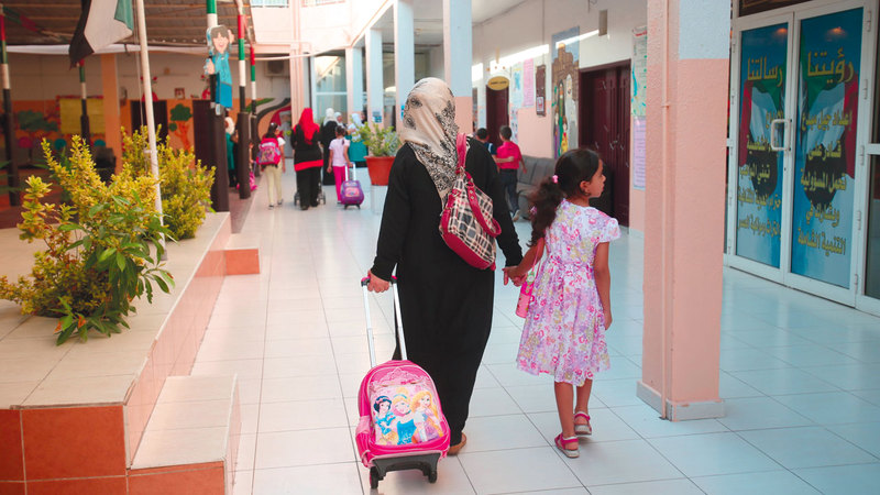عدد المدارس التي تشرف عليها الهيئة وصلت إلى 116 مدرسة خاصة في الشارقة. أرشيفية
