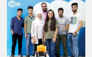الصورة: «دبي للمستقبل» تعلن مشاركة «فريق الأمل»  في تحدي «فيرست غلوبال» العالمي