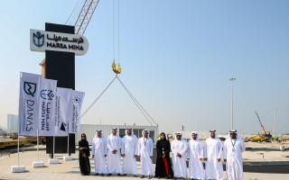 """الصورة: موانئ أبوظبي تطلق مشروع الواجهة البحرية """"مرسى مينا"""" في إضافة نوعية لمعالم الإمارة"""