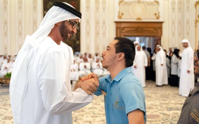 الصورة: محمد بن زايد: الإمارات نجحت في الانتقال بأصحاب الهمم إلى مرحلة التمكين والدمج