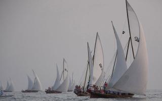 الصورة: سباق دلما الثالث ينطلق اليوم بمشاركة 3000 بحار