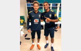 الصورة: «الشارقة»: رافائيل وماركوس لم يلعبا لمنتخب البرازيل