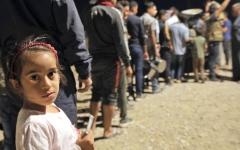 الصورة: الوصول إلى المخيّم