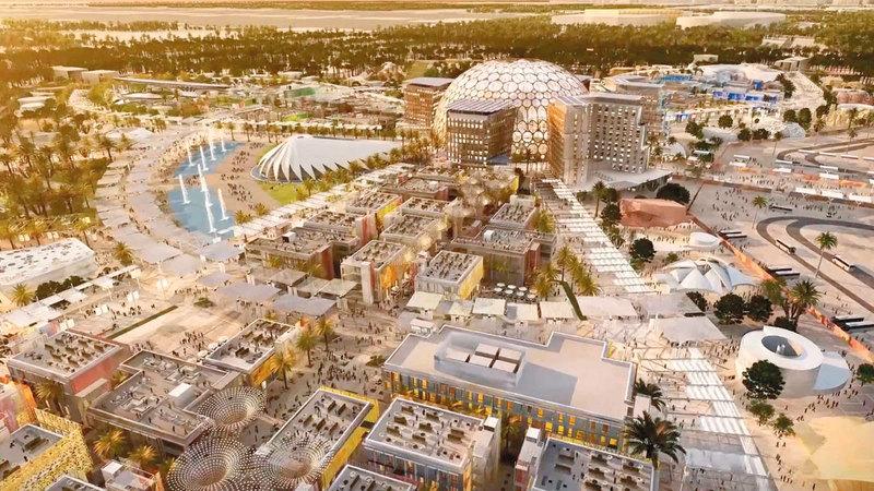«إكسبو 2020 دبي» سيترك إرثاً مستمراً. أرشيفية