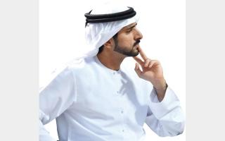 الصورة: حمدان بن محمد يوجّه بتقديم جميع الخدمات الحكومية للمتعاملين عبر تطبيق «دبي الآن»
