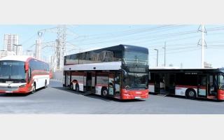 الصورة: «طرق دبي» تكشف أعطال إطارات الحافلات بتقنية ذكية