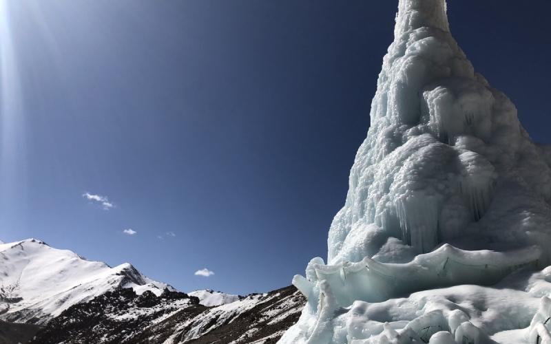 الصورة: شاهد.. جليد اصطناعي لمكافحة تغير المناخ