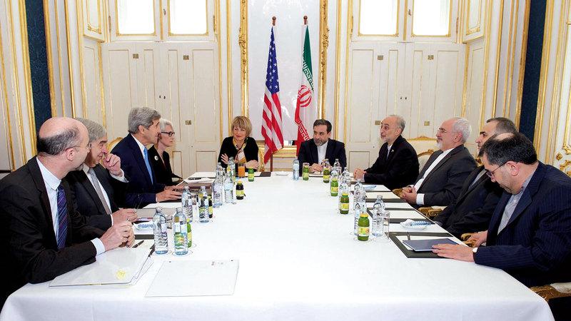 المفاوضات النووية السابقة مع إيران استمرت من 2014 إلى 2015.. وقدمت فيها الدول الكبرى تنازلات كثيرة إلى إيران. إي. بي.إيه