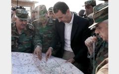 الصورة: الأسد يدعم الأكراد ويعتبر معركة إدلب هي «الأساس» لحسم الحرب