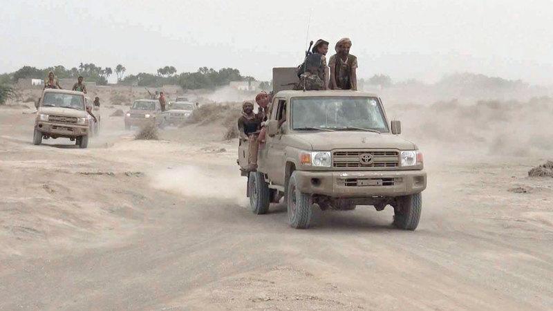 القوات المشتركة تواصل صد هجمات الميليشيات الحوثية. أرشيفية