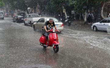 الصورة: الأمطار في مصر.. حجم غير مسبوق وتحذيرات من طقس الجمعة