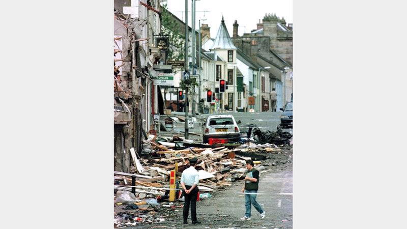 هجمات «شين فين» شملت أهدافاً في بريطانيا وإيرلندا الشمالية. أرشيفية