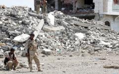 الصورة: تثبيت نقطة المراقبة الخـــامسة فــي الحديدة.. والحوثي يواصل خــرق الهدنة