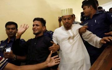 الصورة: بالصور.. إعدام 16 بينهم مدير مدرسة في قضية تحرش وقتل طالبة هزت بنغلاديش