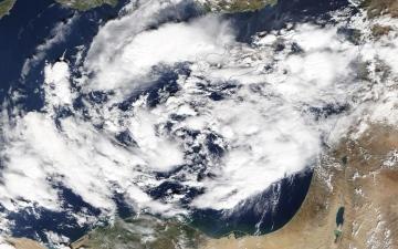 """الصورة: بالصور.. """"ناسا"""" تحذر من إعصار يضرب مصر.. والقاهرة تنفي"""