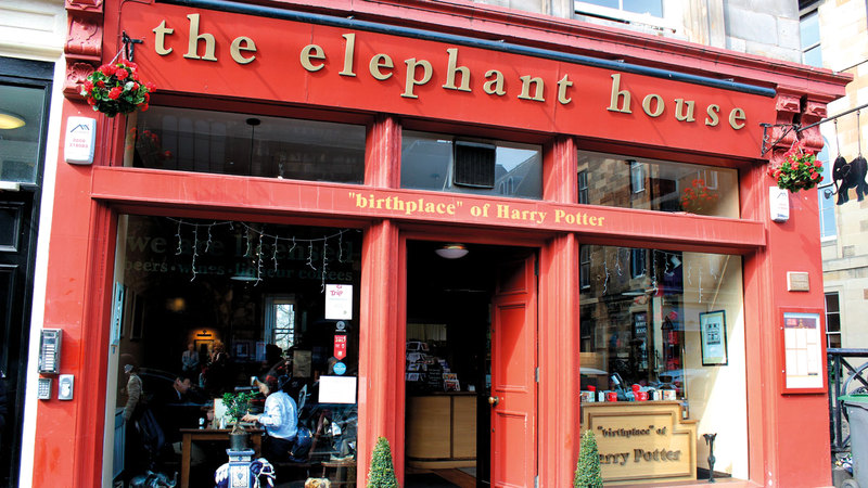 مقهى «ذا إيليفنت هاوس» .
