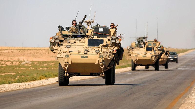 قرار ترامب سحب القوات الأميركية مهّد الطريق لهجوم تركي على الأكراد. أ.ف.ب