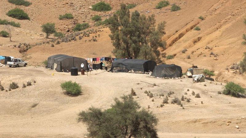 إسرائيل توقف العمل في منشآت سكنية بطوباس في الأغوار. الامارات اليوم