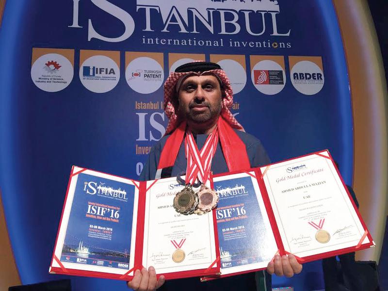 مجان اعتبر أن الجمعية جاءت ثمرة إنجازات شباب الإمارات المخترعين، وفوزهم بالعديد من الميداليات. أرشيفية