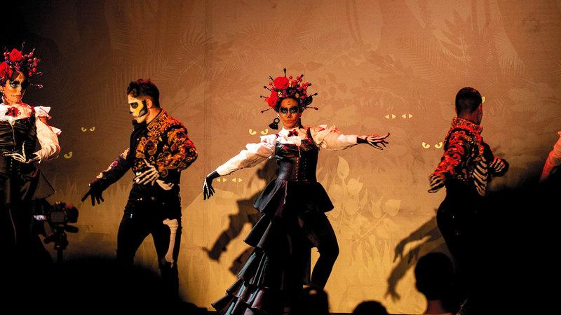 المهرجان شهد برنامجاً حافلاً بالعروض الحية. من المصدر