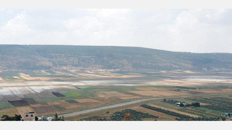 مساحة أراضي سهل البطوف 70 ألف دونم. أرشيفية