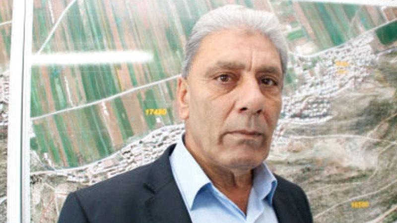 رئيس المجلس الإقليمي السابق في سهل البطوف ياسر عمر. أرشيفية