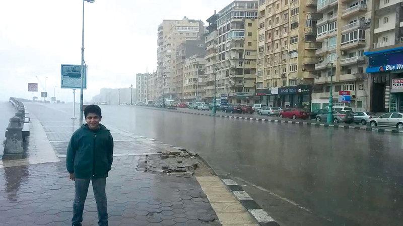 المياه غمرت شوارع القاهرة. أرشيفية