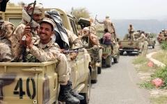 الصورة: «التحالف» يعيد تموضع قواته في عدن بقيادة السعودية.. وينشرها وفق متطلبات العـمليـات