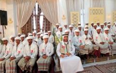 الصورة: «الهلال» تنظِّم العرس الجماعي الخامس في حضرموت