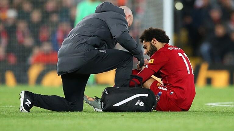طبيب ليفربول مع محمد صلاح