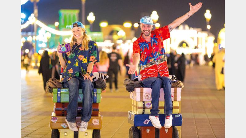 يتميز هذا الموسم بأنه نقلة نوعية للقرية العالمية جمعت فيه خبرات 24 عاماً لتقديم أفضل التجارب الثقافية والترفيهية. الإمارات اليوم