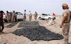 الصورة: القوات اليمنية المشتركة تتلف 3000 لغم في الساحل الغربي