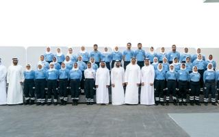 الصورة: محمد بن زايد: دولة الإمارات ستظل بيئة حاضنة وداعمة لطلبة العلم