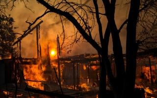 الصورة: بالصور.. حرائق كاليفورنيا الضخمة