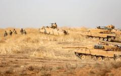الصورة: اشتباكات عنيفة بين الجيش السوري والقوات التركية