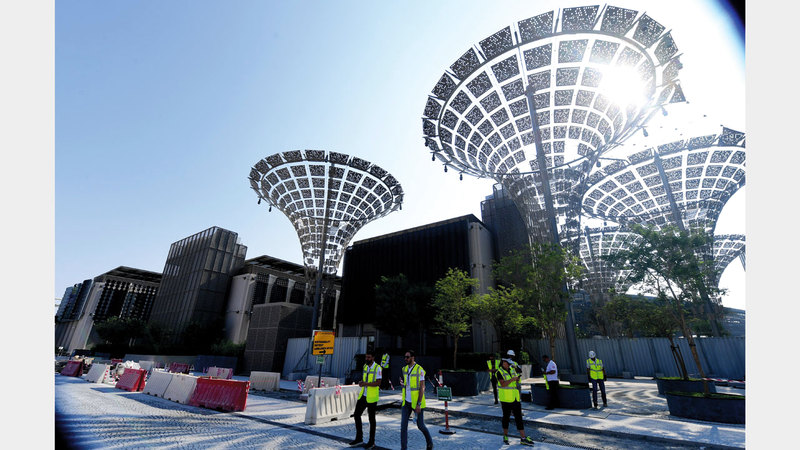 «المنتدى» يناقش الثمار المتوقعة من استضافة «إكسبو 2020» على اقتصاد الدولة. تصوير: باتريك كاستيلو