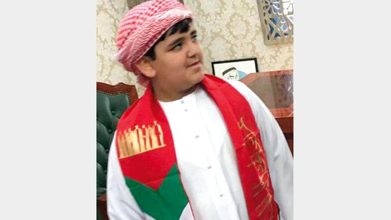 «سعيد» كان يعاني فقدان حاسة السمع. الإمارات اليوم