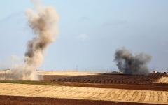 الصورة: اشتباكات بين الجيش السوري وقوات تركية في رأس العين