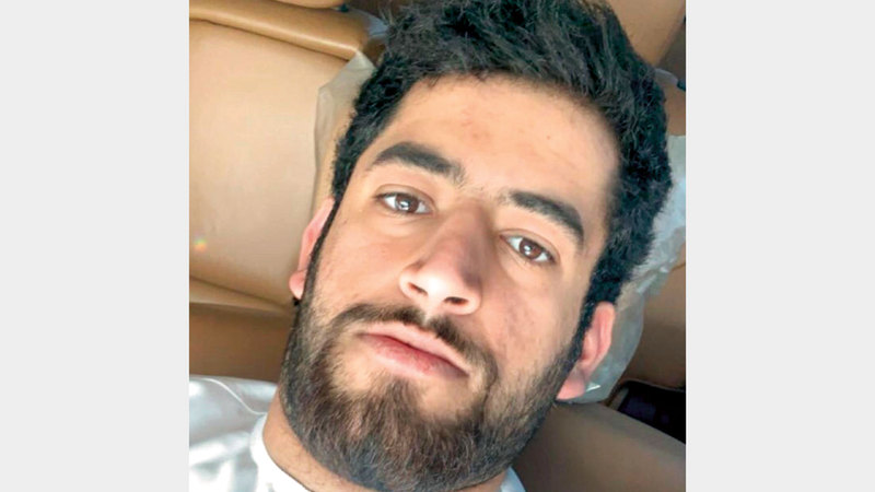 «مايد» كان يعاني وجود أكياس في الرأس. الإمارات اليوم