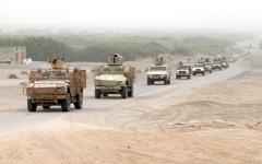 الصورة: القوات اليمنية تنفذ هجوماً في محيــط صنعاء