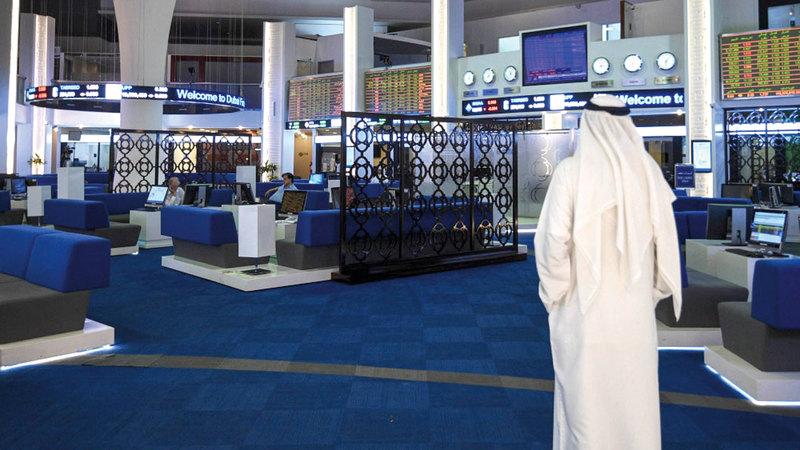 مؤشر سوق دبي المالي تراجع الأسبوع الماضي بنسبة 1.3%.  تصوير: أشوك فيرما